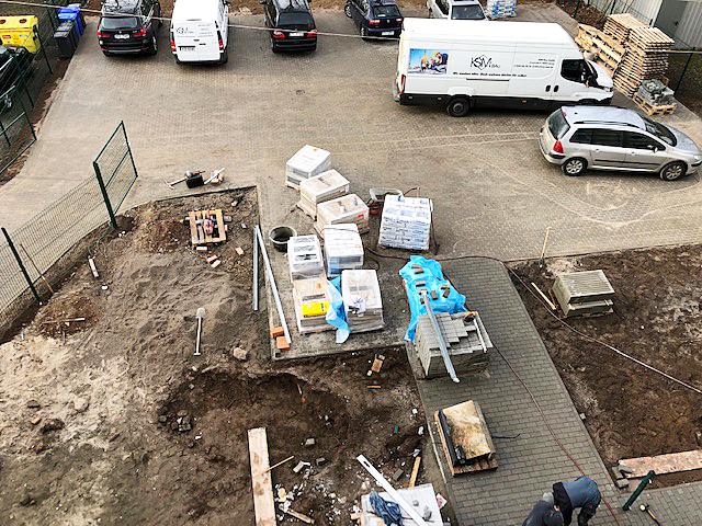 Baufortschritt Dezember 2019